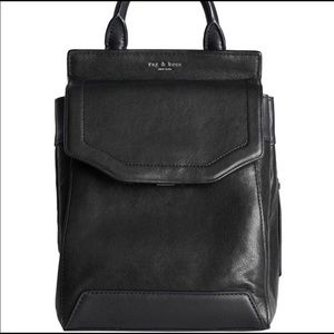 NWOT Rag and Bone Leather Pilot Backpack - Medium